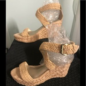 Wedge Ankle Wrap Sandals